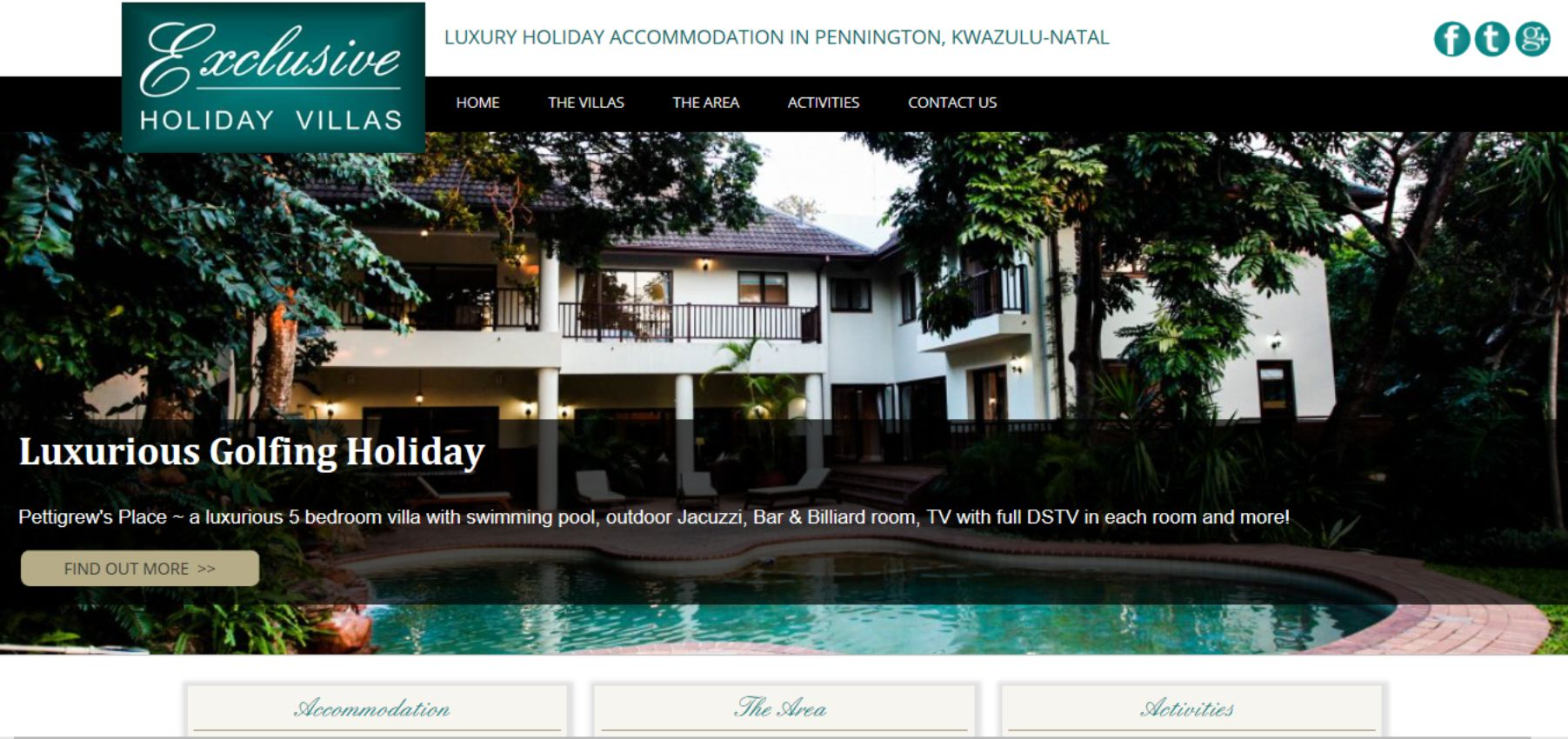 Exclusive Holiday Villas - www.exclusiveholidayvillas.co.za